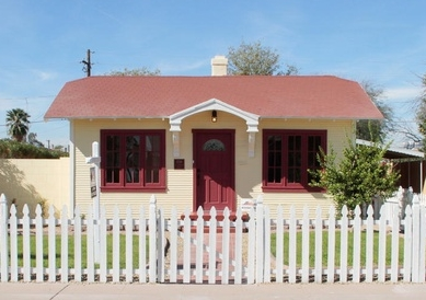 Our current home in Central Phoenix, built in 1925.