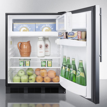 4b. Freezer! Glass shelves. Crisper. Door storage. The one?
