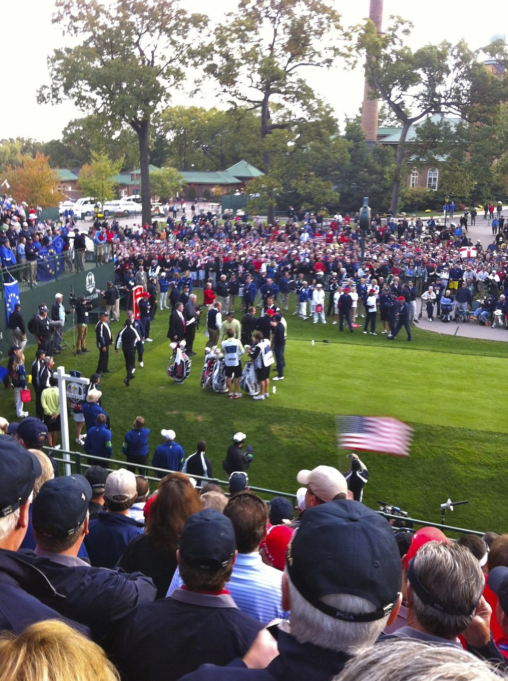 Ryder Cup Medinah First Tee