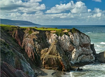 The stunning Cabot Cliffs in Nova Scotia
