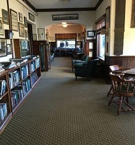 The clubhouse at Garden City is well worth a look around to enjoy artefacts from a bygone era!