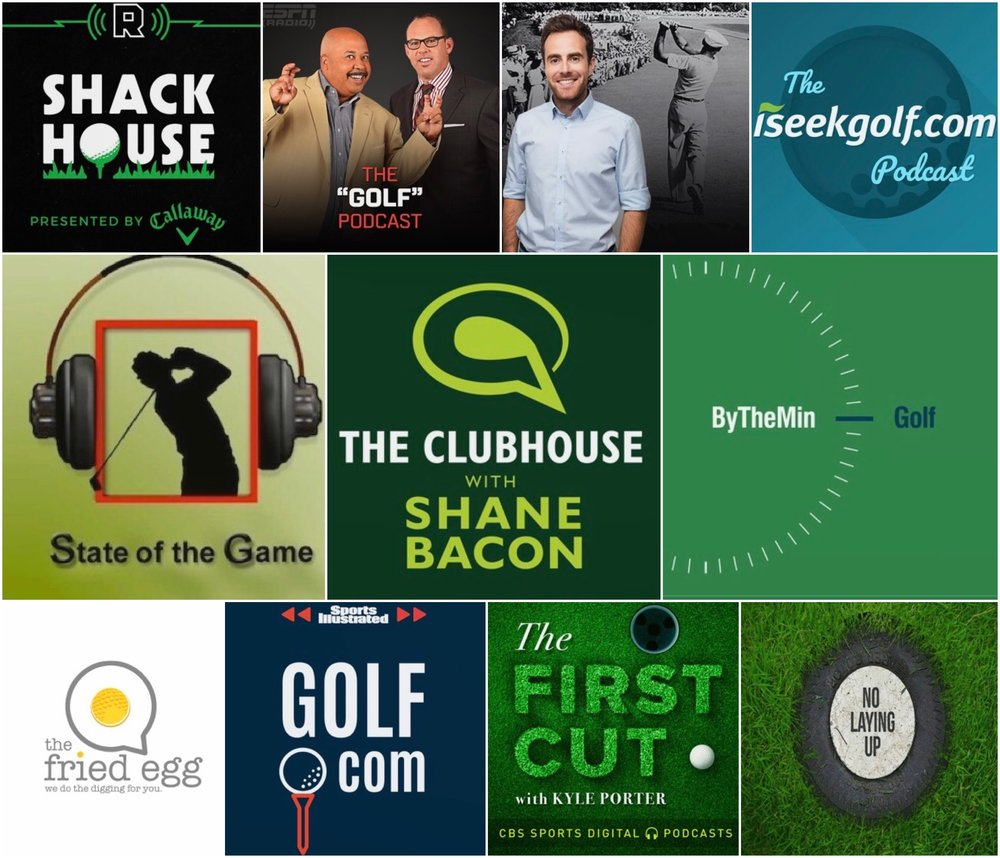 golf podcasts