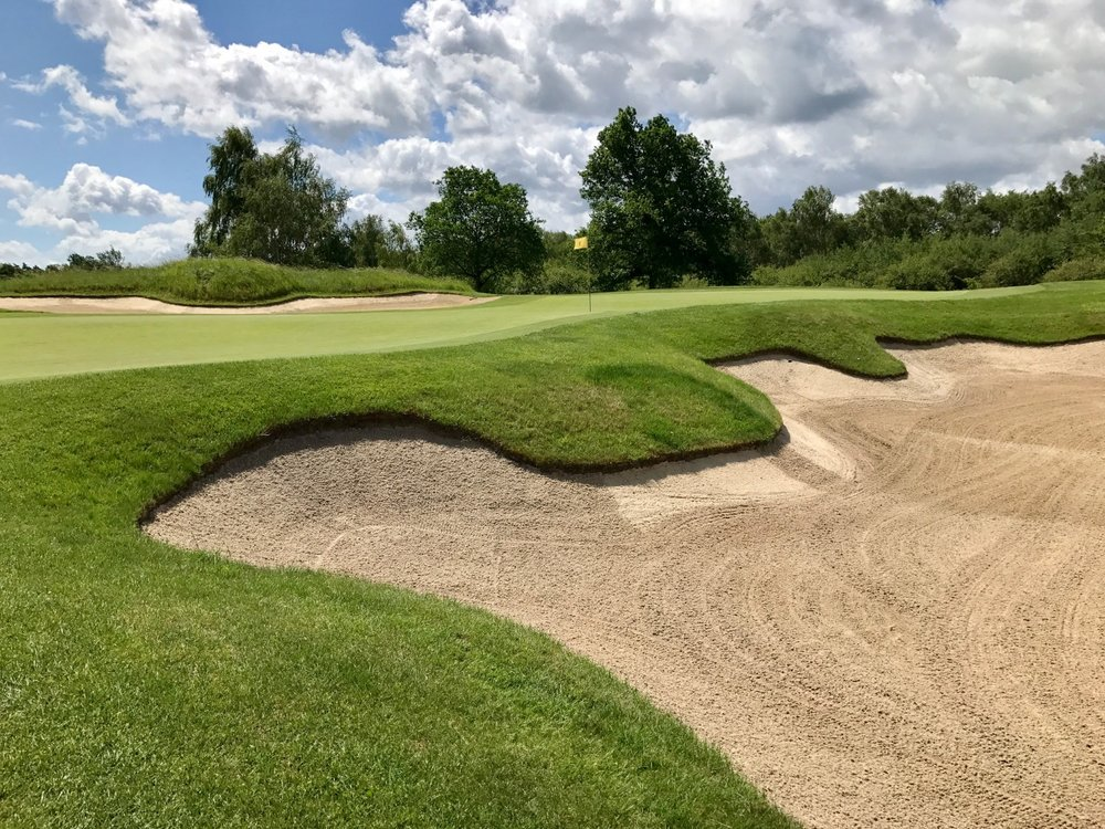 Les Bordes Golf is a formidable test