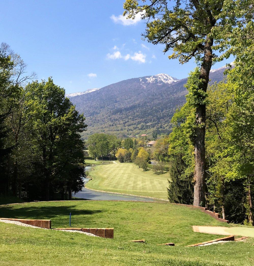 Fontainebleau golf course