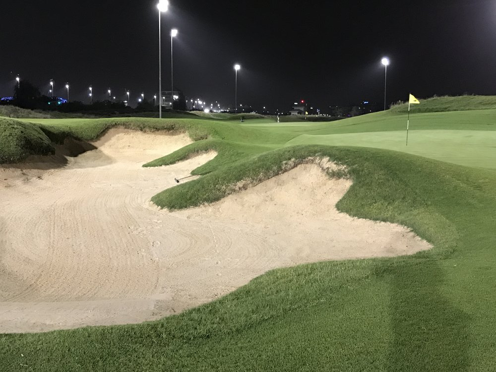 Night Golf at Yas Links
