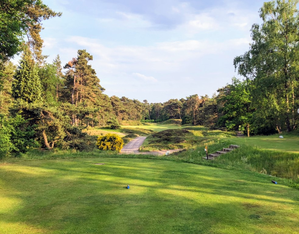 The 10th hole at Utrecht de Pan Golf Club is one of the most photogenic holes in golf