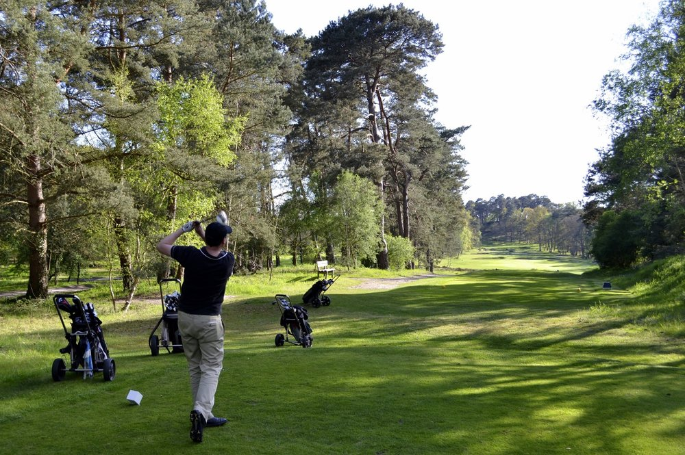 The wonderful Golf Club de Fontainebleau