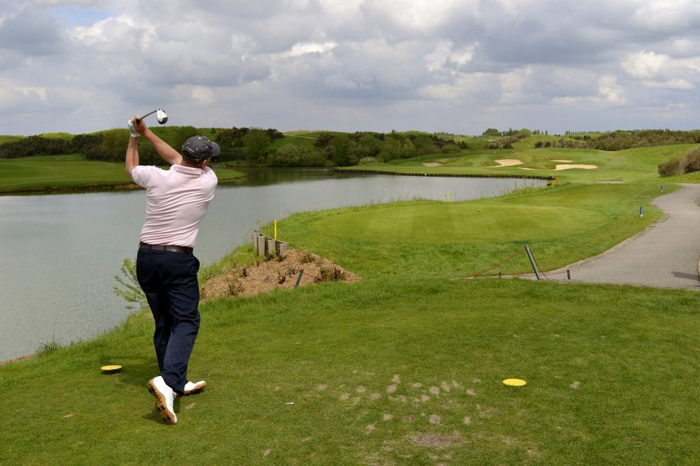 The par 3 second at Le Golf National requires both length and accuracy off the tee