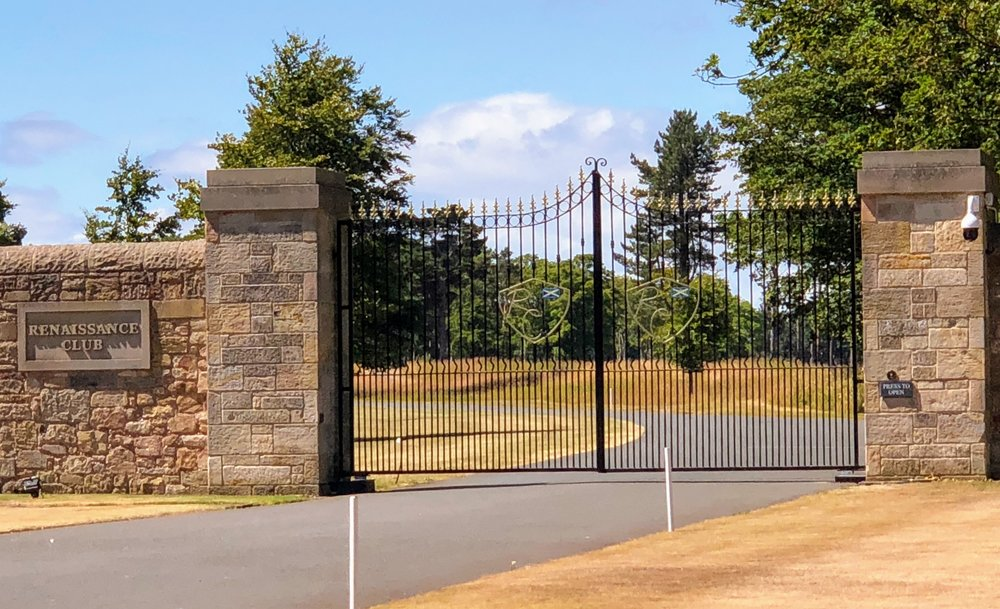Few have been behind the locked gates of the Renaissance Course, just 5 minutes from Gullane Golf Club