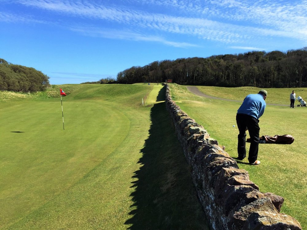 North Berwick is one of the very best courses in the world, and loves welcoming visitors!