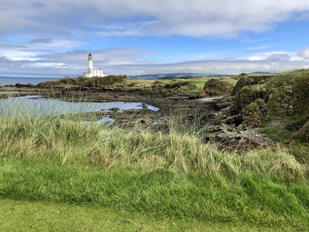 The new 9th hole at Turnberry is one of the most spectacular par 3s anywhere  in the world