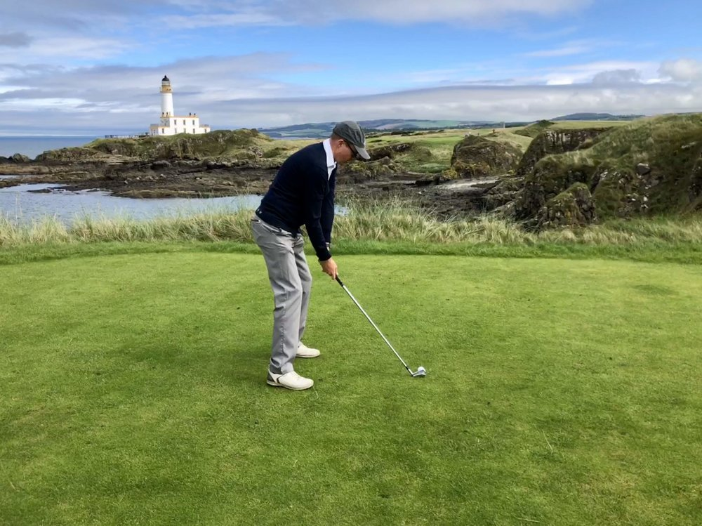 The work around the lighthouse at Turnberry makes for some of the most spectacular golf in the world.