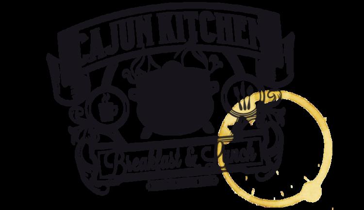 breakfast lunch logo - Cajun Kitchen