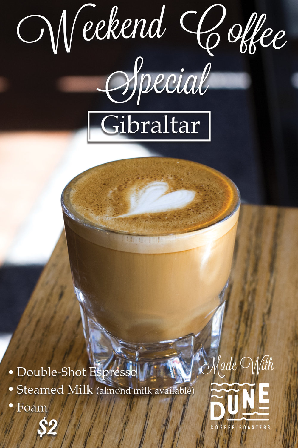 Gibraltar Expresso Drink Coffee