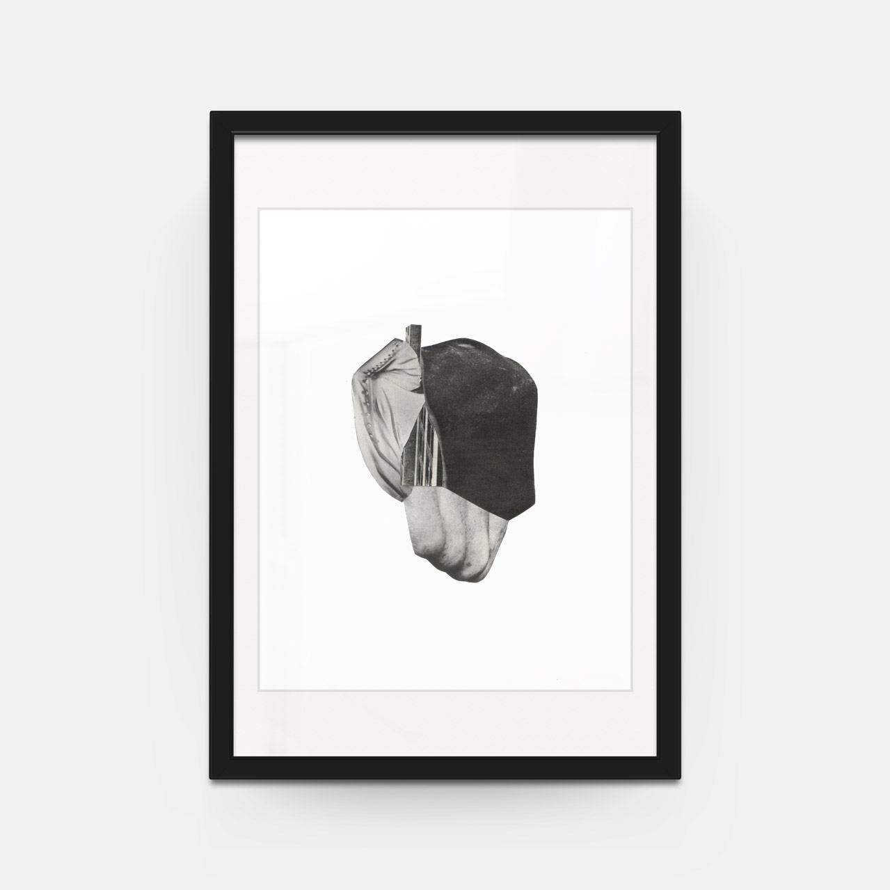 Richard Vergez; \'New Form I\', Framed (26\