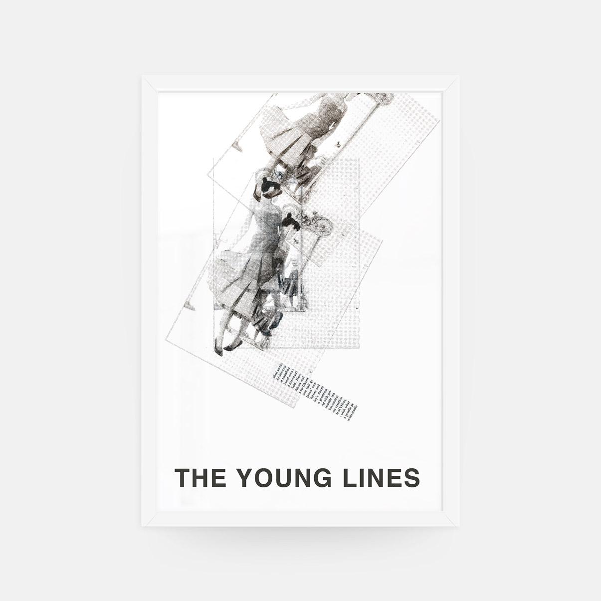 richard vergez young lines framed 26 x 38 artefakt