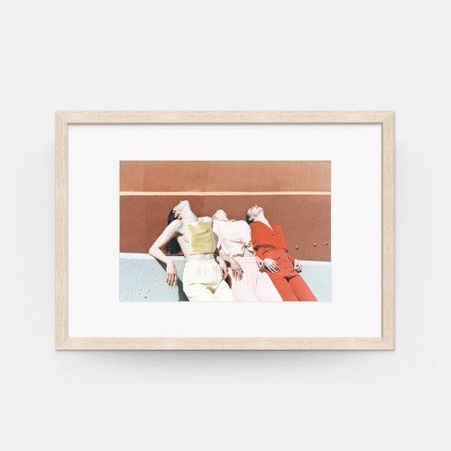 Estelle Spirig; \'VI\', Framed (26\