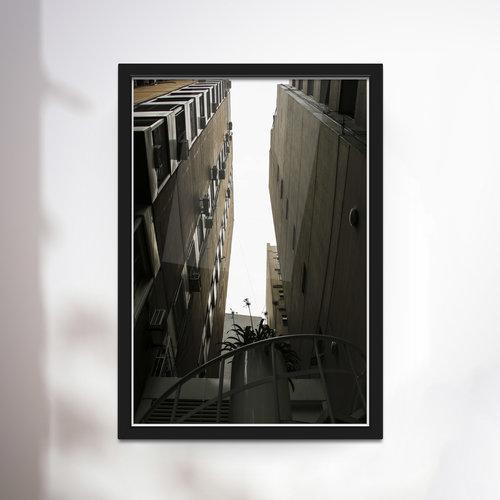 Cielo Lavergne; \'X\', Framed (26\