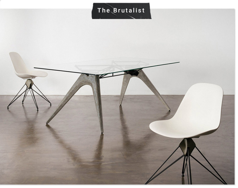 Brutalist Furniture & Home Decor