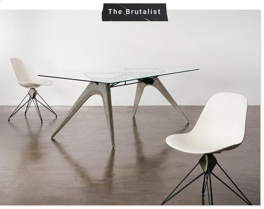 Brutalist Furniture & Home Decor