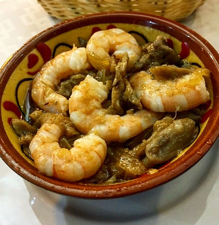 Shrimp is always a great Sherry pairing