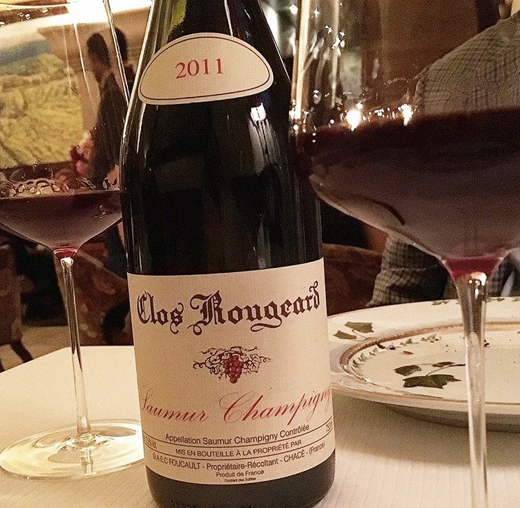 The elusive Clos Rougeard, found at Bouley 😊