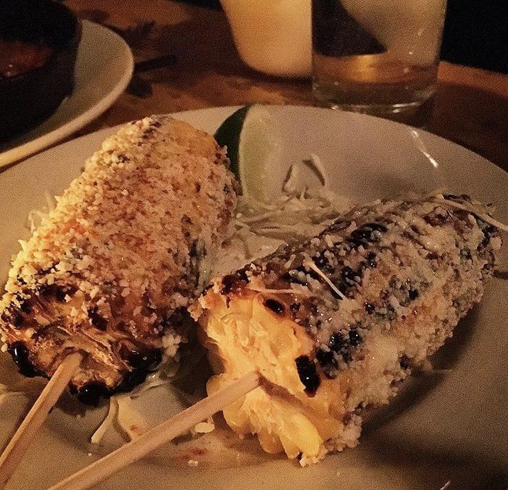 Cheesy corn, La Esquina
