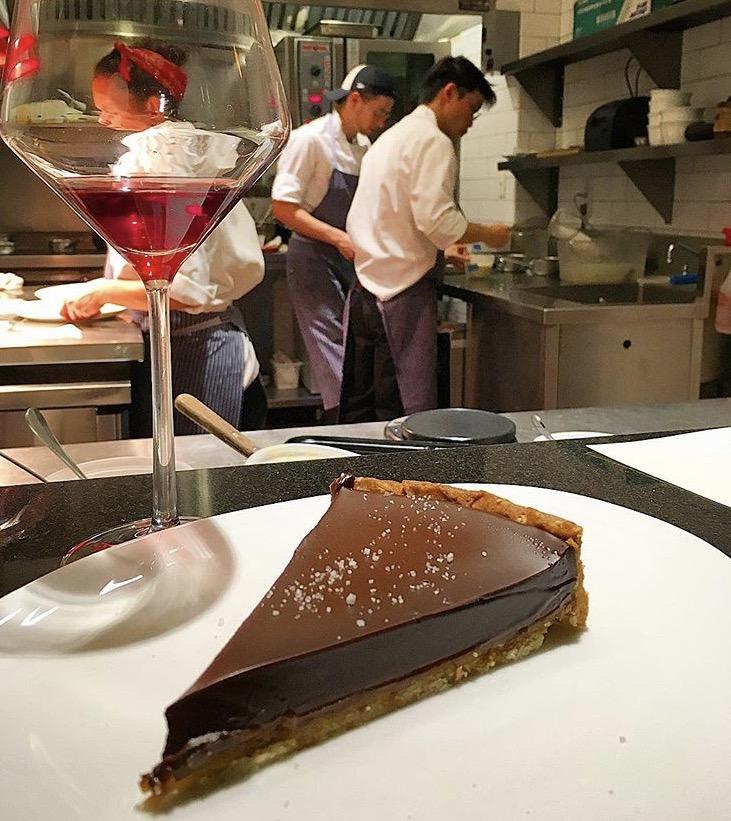 Chocolate caramel tart 😋, Racines