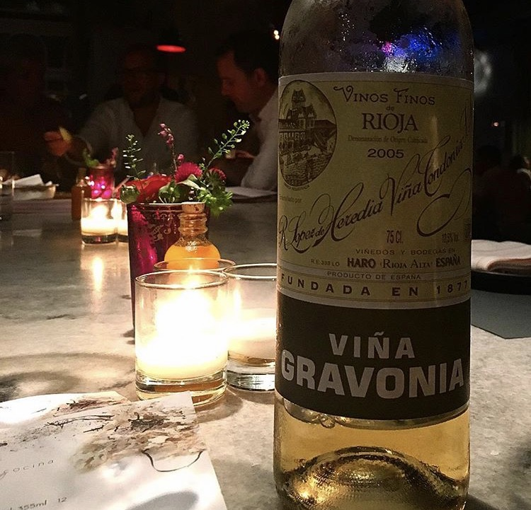 White Rioja at ABC Cocina