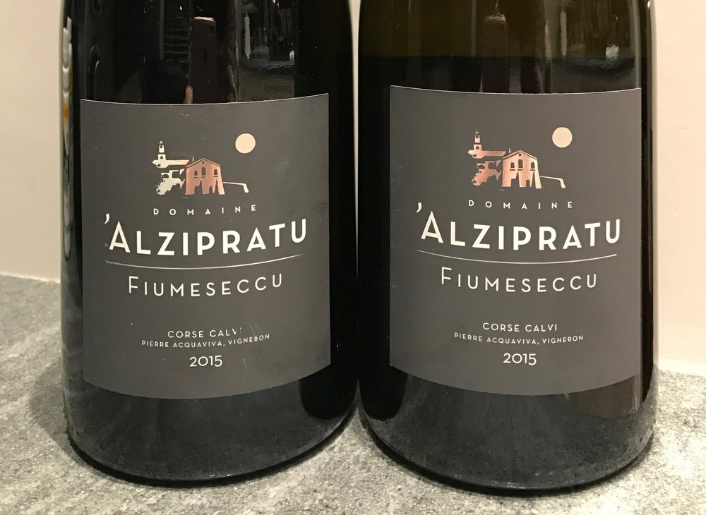 Pair your Pork loin with this amazing Corsican Red wine from Domaine D'Alzipratu.