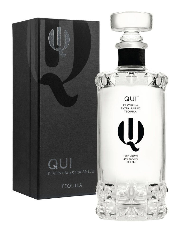 The elegant looking bottle of Qui Tequila, as beautiful on the outside as it is on the inside!