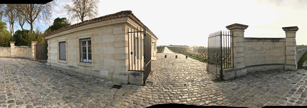 Entrance To Château Latour