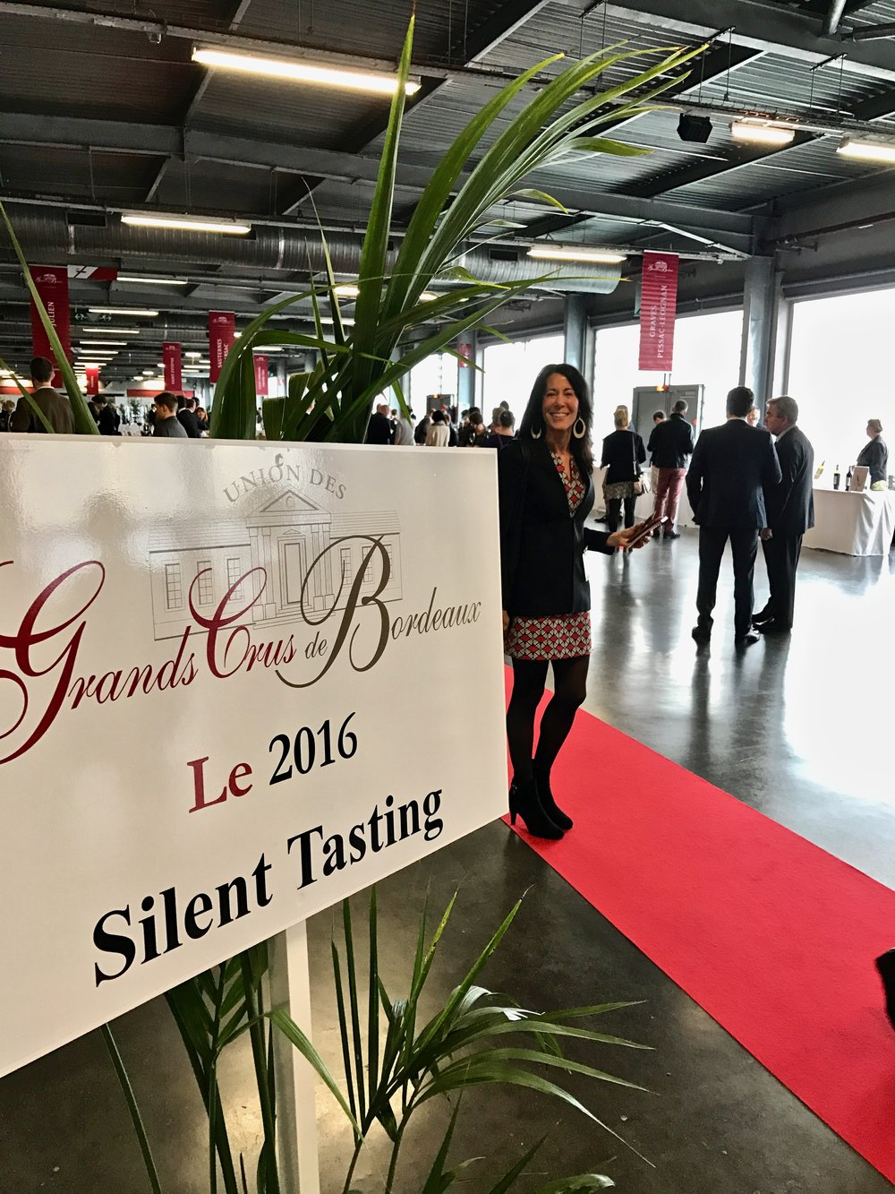 Arrving to the En Primeur tasting in Bordeaux