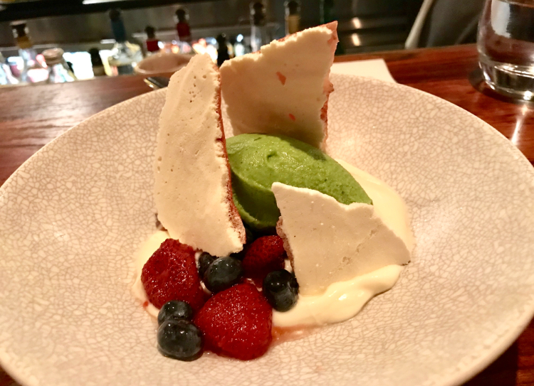 The desserts at MoVida  are creative and delicious!