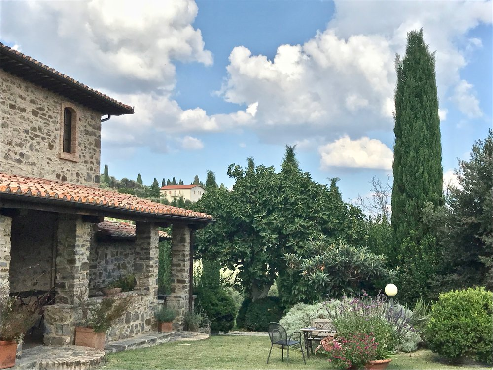 The charm of Montecucco shines through at Peteglia winery.