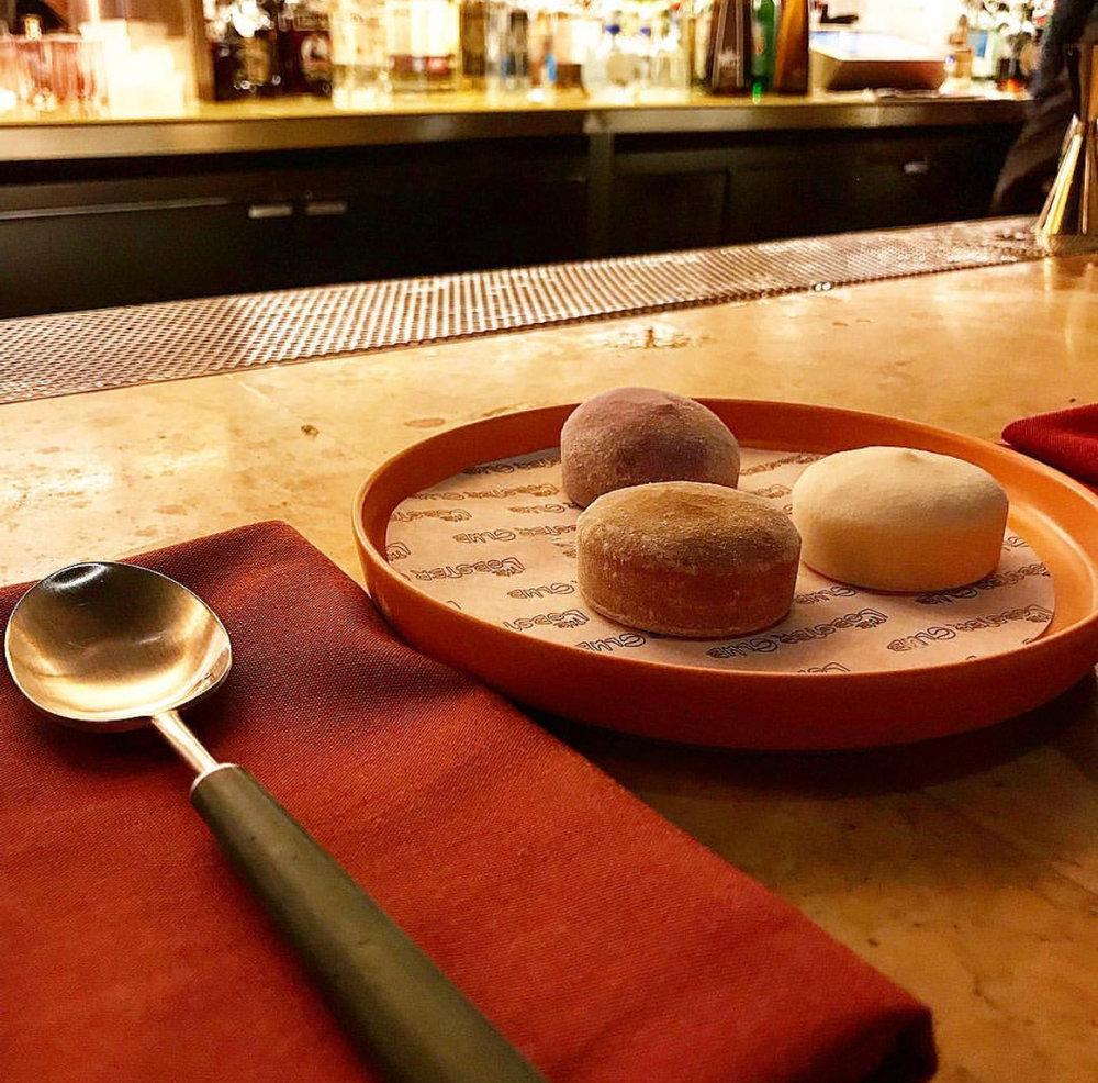 A great finale at The Lobster Club… Mochi!