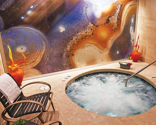 Whirlpool at The Spa At The Inn of the Mountain Gods