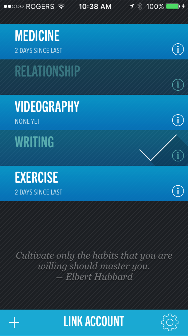 chain productivity app