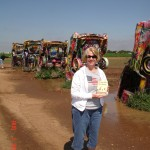 Barbara from McClain, TX who loaned us her spray paint!