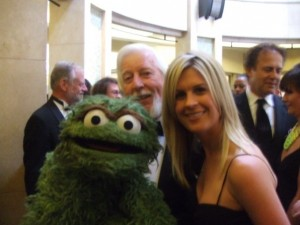 This has nothing to do with anything other than I could have never known when I met Oscar at the Emmy's 6 years ago, how much of a rockstar it would make me in my future daughter's eyes.