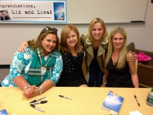 Jen Lancaster did an event with us and Andrea Lochen stopped by! #authorlove