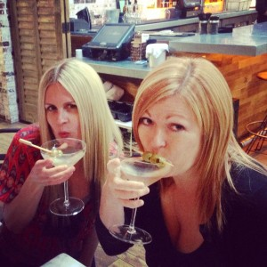 In our defense, it was National Martini Day.
