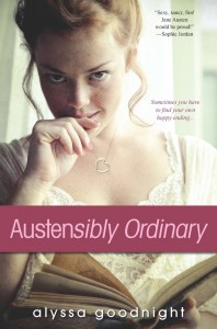 Book  Austensibly-Ordinary by Alyssa Goodnight