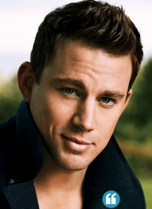 Thankful for Channing Tatum's hotness