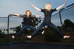 We are jumping for joy about our new website!