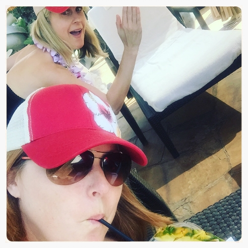 2016 - Liz and Lisa head to the island of Maui to