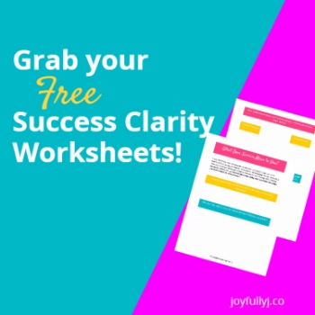 free success clarity worksheets