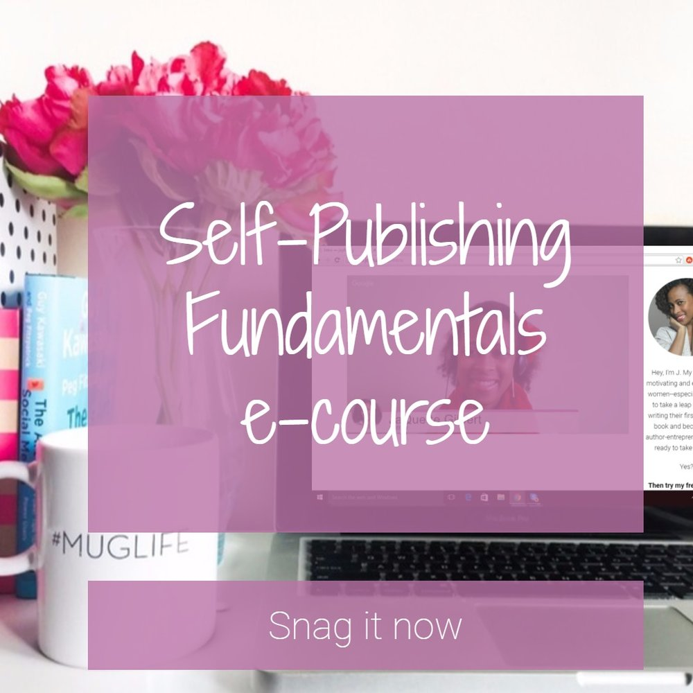 self-publishing fundamentals e-course