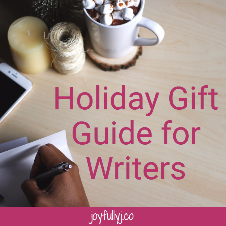 The holidays are upon us and you may be wondering what to get that oh so special writer friend in your life. Well, have no fear, my dear! I've come to save the day. I have a list here of 12 gifts that would bring a cup of cheer to any writer.