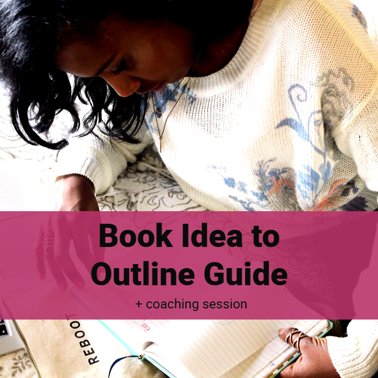 If you want to write a nonfiction book, but aren't sure how to organize your thoughts, then you should grab the book idea to outline guide plus a coaching session. Let me help take you from confusion to clarity!